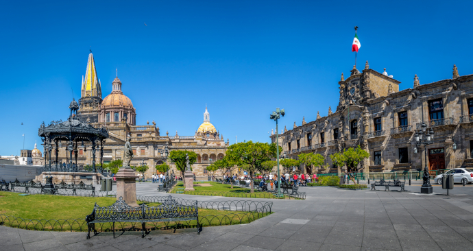Guadalajara is the second-largest city in Mexico.